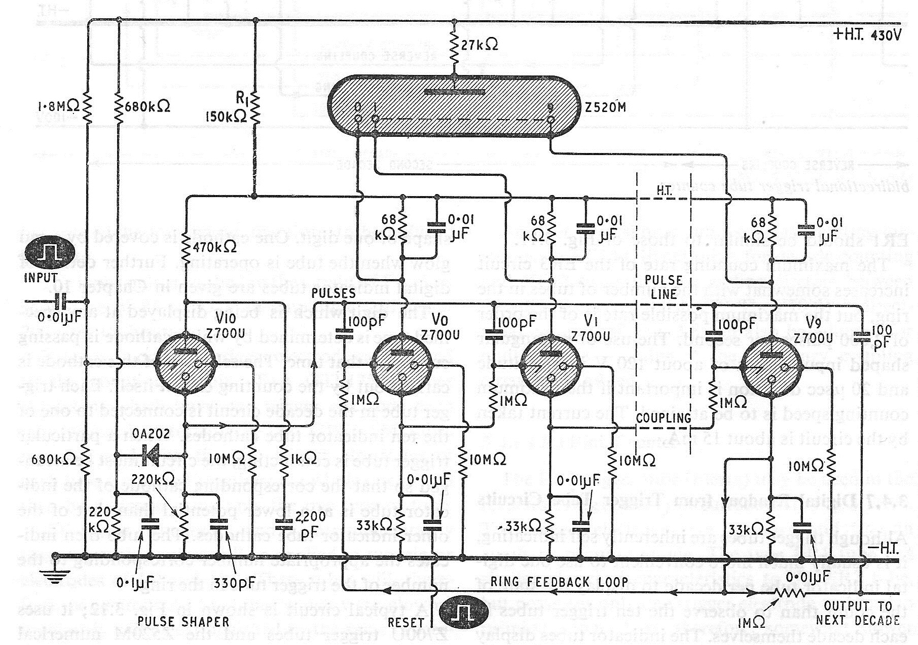 Sgitheach Decade Counter Circuit Diagram 312 A Z700u With Z520m Readout
